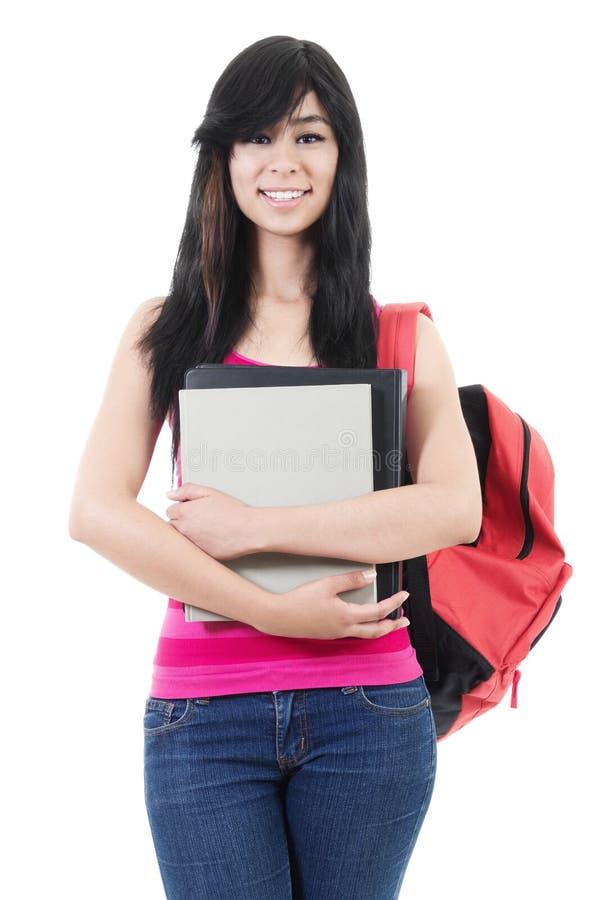 Estudante universitário fêmea fotos de stock