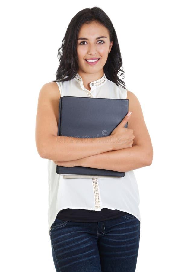 Estudante universitário fêmea fotografia de stock