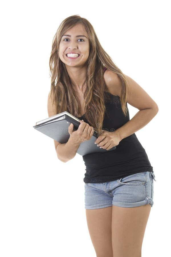 Estudante universitário fêmea imagens de stock royalty free