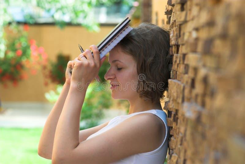 Estudante virado após o failing do exame fotografia de stock
