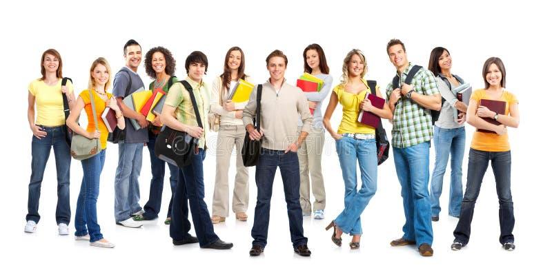 Estudantes foto de stock
