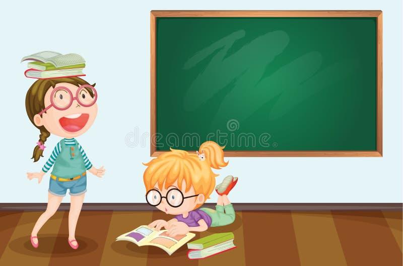 Estudantes ilustração stock
