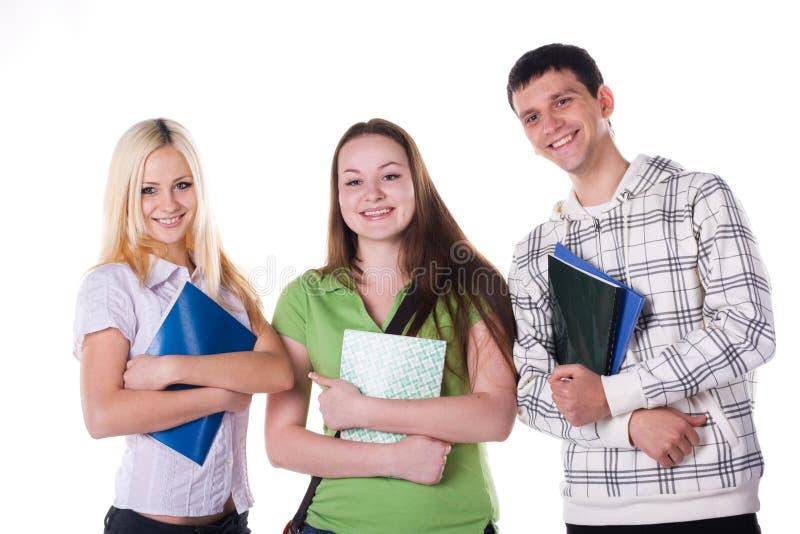 Download Estudantes alegres foto de stock. Imagem de lifestyle - 12811496