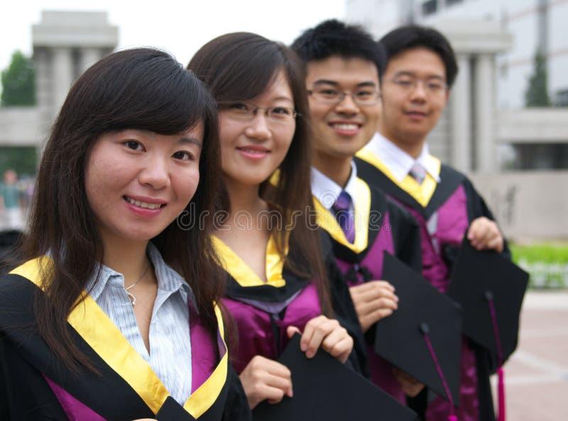 Estudantes chineses imagens de stock