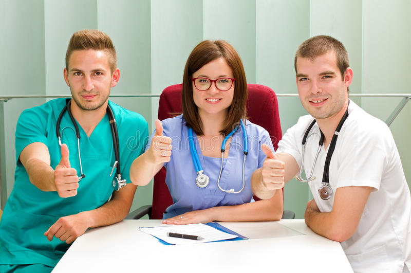 Estudantes de Medicina fotos de stock