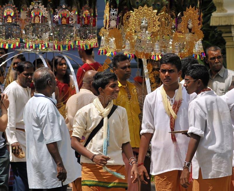 Estudantes indianos novos fotos de stock
