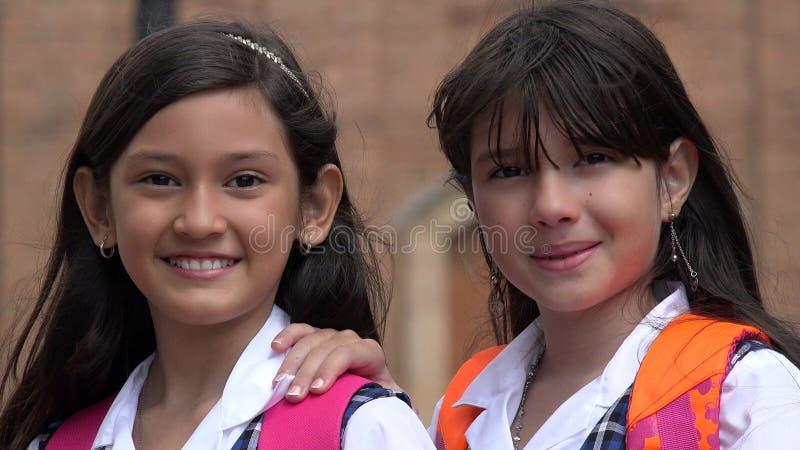 Estudantes latino-americanos fotografia de stock royalty free