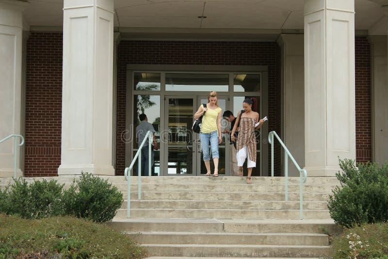 Estudantes universitários fotos de stock