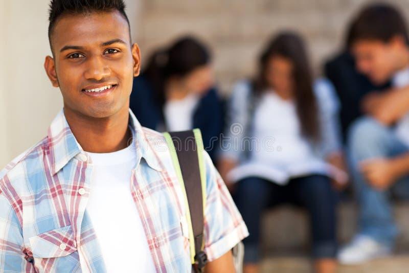 Estudiante adolescente indio fotos de archivo libres de regalías