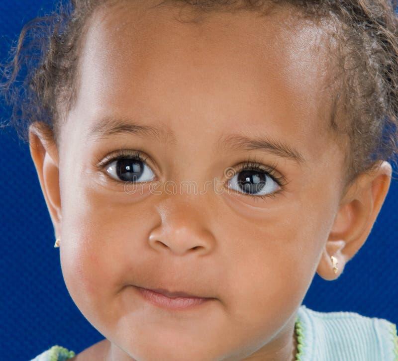 Estudiante adorable del bebé fotografía de archivo