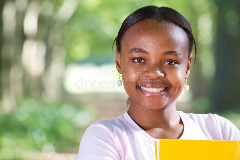 Estudiante africano imagen de archivo