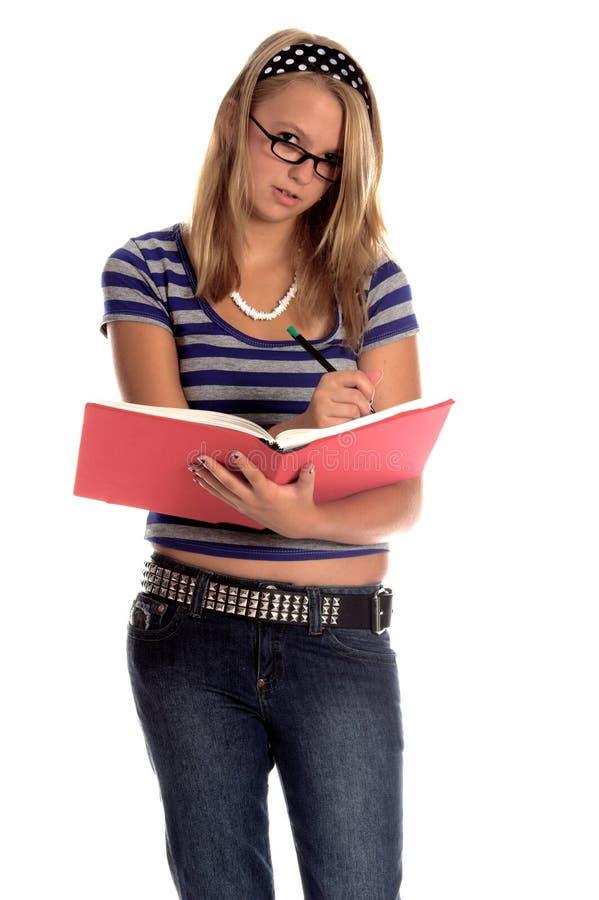 Estudiante con estilo fotos de archivo libres de regalías
