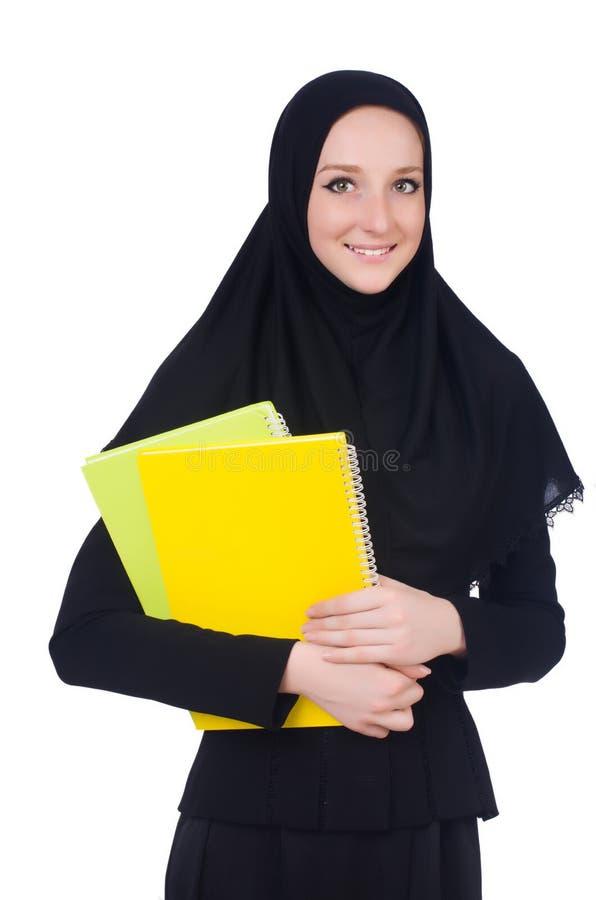Download Estudiante De Mujer árabe Aislado Foto de archivo - Imagen de feliz, ruegue: 41916342