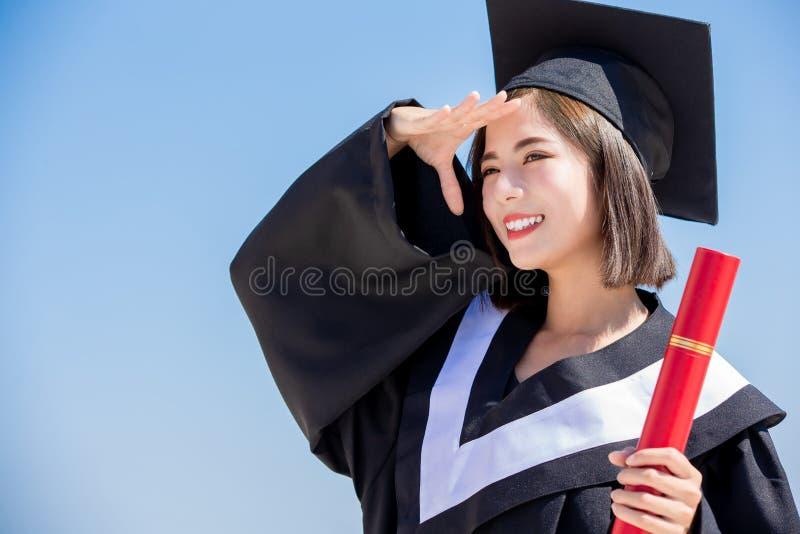Estudiante de tercer ciclo asi?tico imagen de archivo libre de regalías