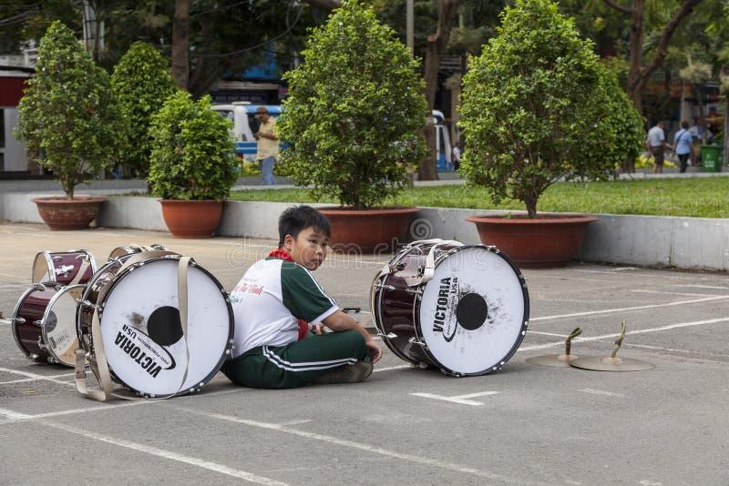 Estudiante de Vietnam imagen de archivo