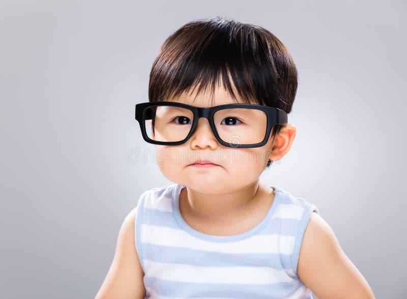 Estudiante del bebé fotografía de archivo libre de regalías