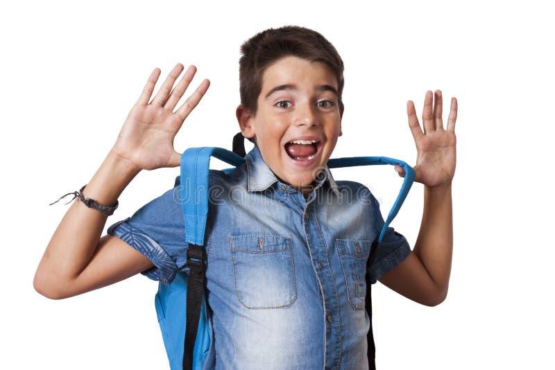 Estudiante del niño foto de archivo libre de regalías