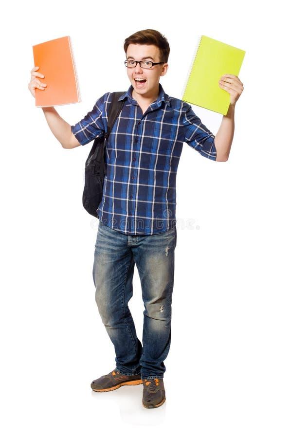 Download Estudiante Divertido Aislado Imagen de archivo - Imagen de clase, alegre: 41916695