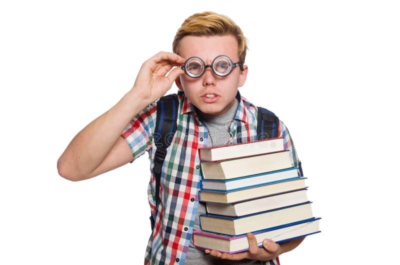 Download Estudiante Divertido Con La Pila Imagen de archivo - Imagen de divertido, conocimiento: 41915049