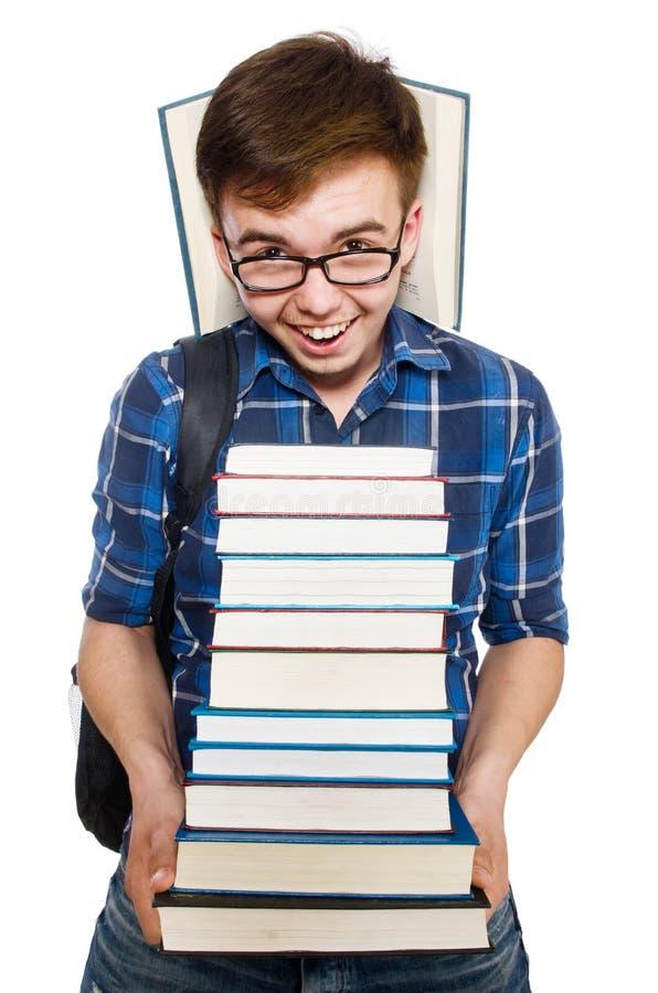 Download Estudiante Divertido Con La Pila Imagen de archivo - Imagen de aprenda, fondo: 41916711