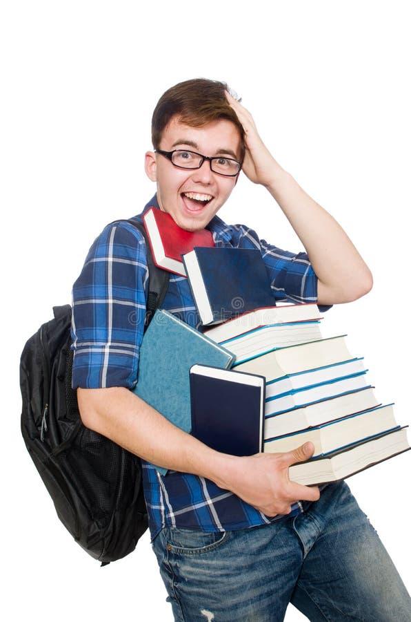 Download Estudiante Divertido Con La Pila Imagen de archivo - Imagen de aprenda, varón: 41916719