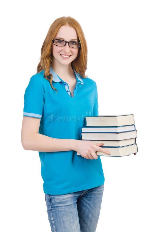 Download Estudiante Divertido Con La Pila Imagen de archivo - Imagen de feliz, cómico: 41918283