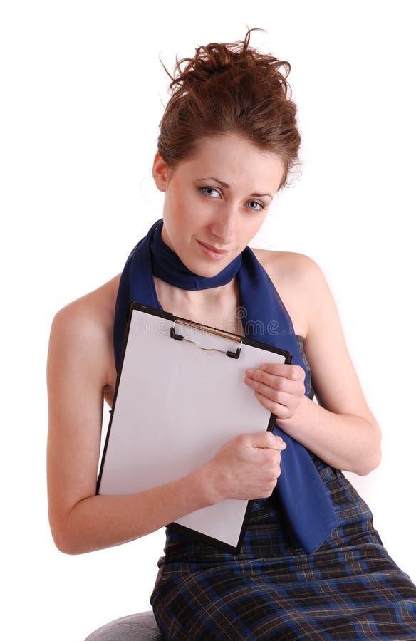 Estudiante femenino foto de archivo libre de regalías