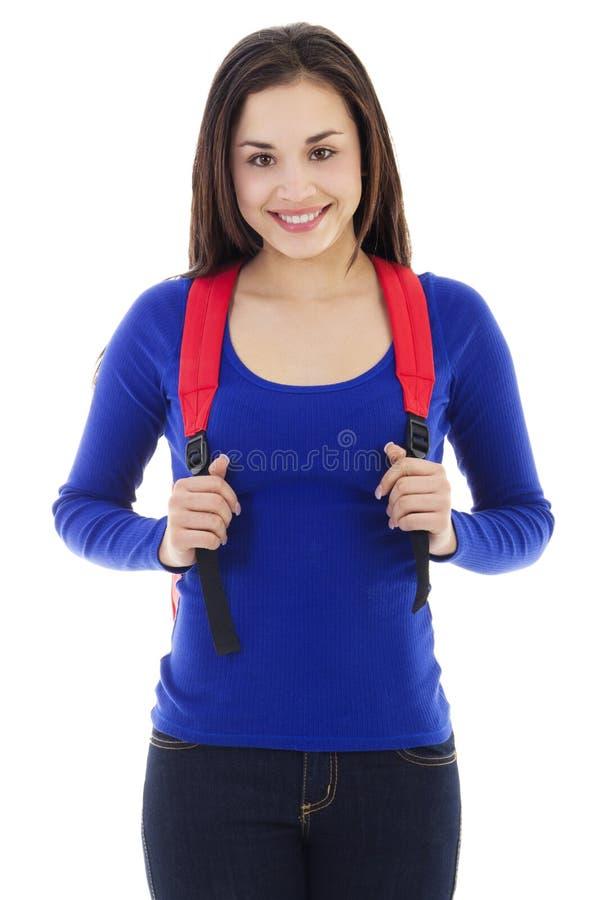 Estudiante femenino joven imagen de archivo libre de regalías