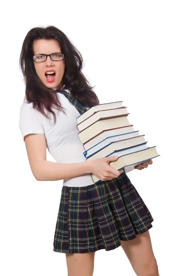 Download Estudiante joven aislado imagen de archivo. Imagen de educación - 41916643