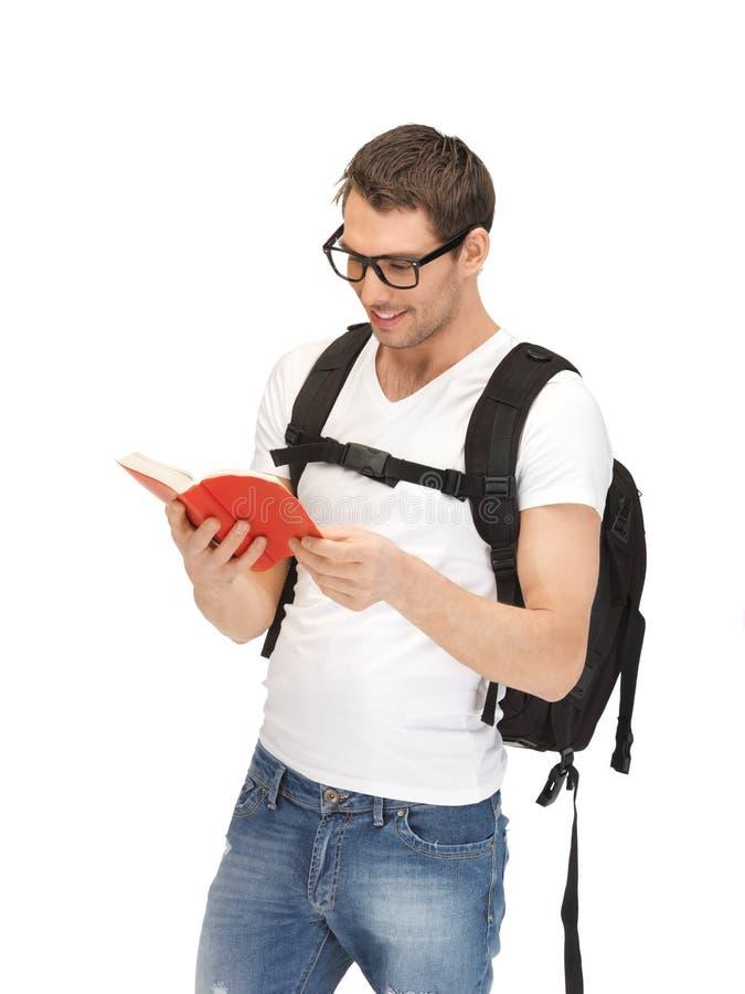Estudiante que viaja imagen de archivo libre de regalías