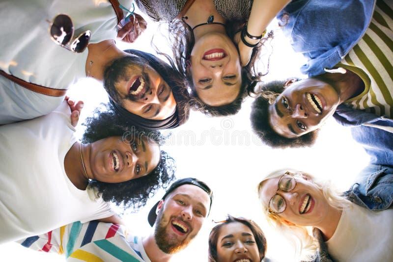 Estudiante Relationship Team Concept de la conexión de los colegas fotos de archivo