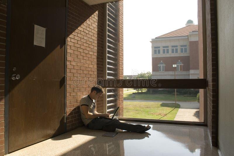 Estudiante universitario fotografía de archivo libre de regalías