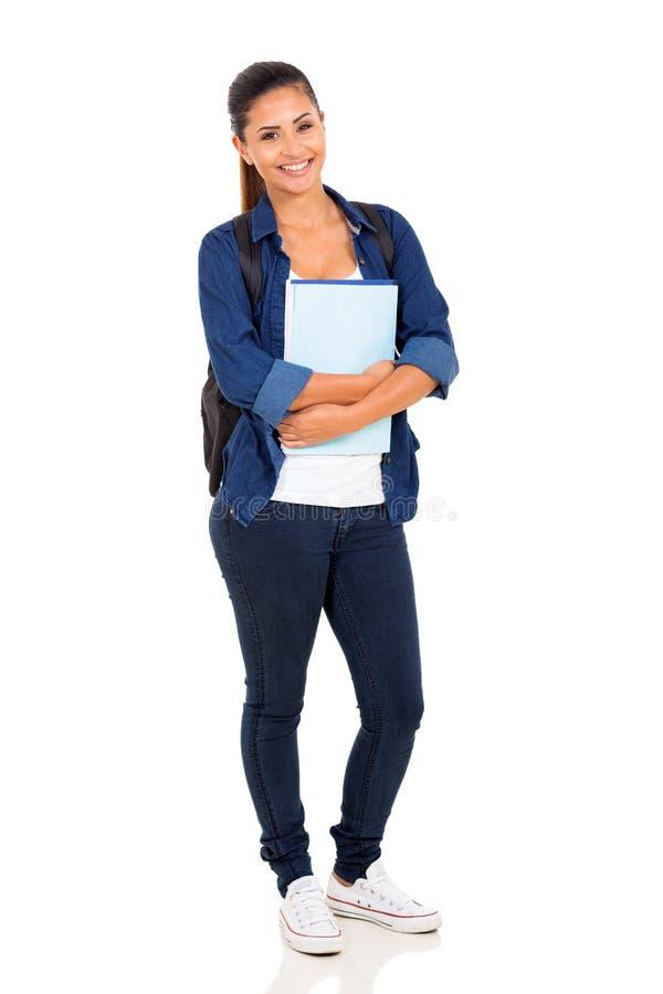 Estudiante universitario de sexo femenino foto de archivo libre de regalías