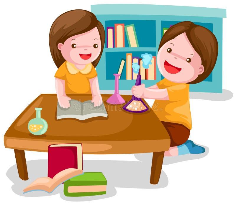 Estudiantes stock de ilustración