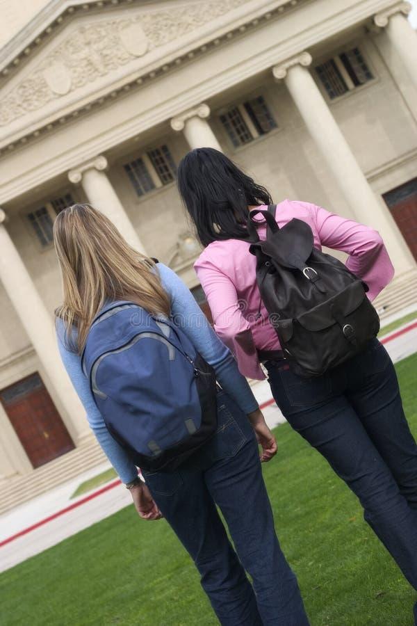 Estudiantes foto de archivo libre de regalías