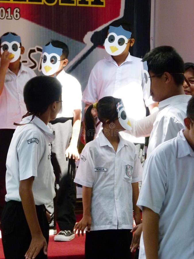 Estudiantes del autismo fotografía de archivo libre de regalías