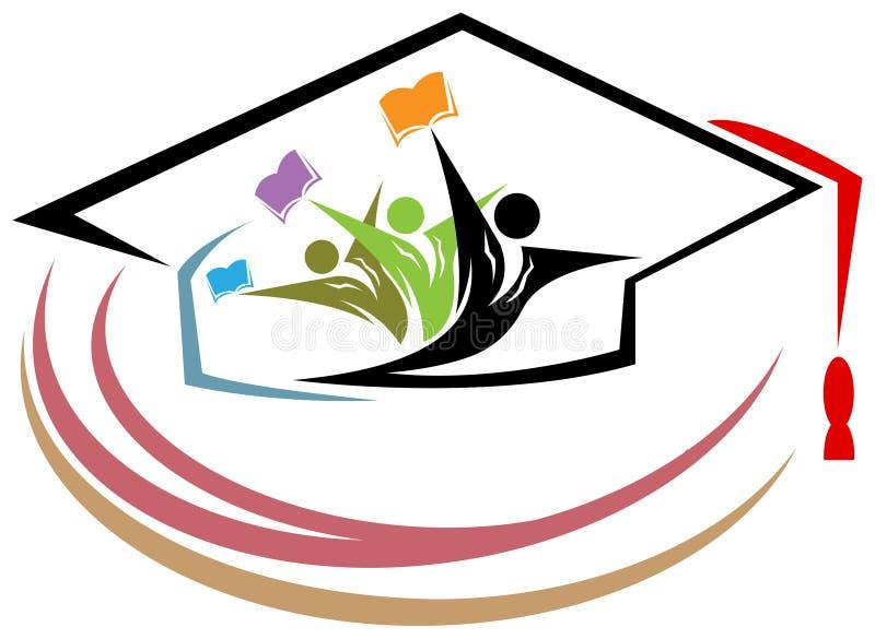 Estudiantes universitarios stock de ilustración