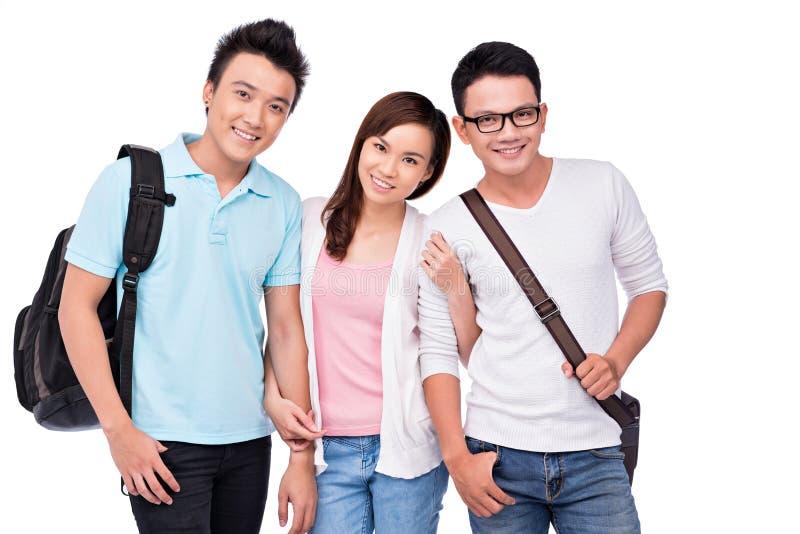 Estudiantes vietnamitas imagenes de archivo