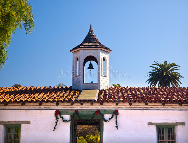 estudillo παλαιό SAN Καλιφόρνιας casa de Diego στοκ εικόνα με δικαίωμα ελεύθερης χρήσης