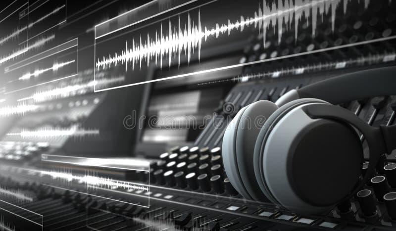Estudio de los sonidos libre illustration
