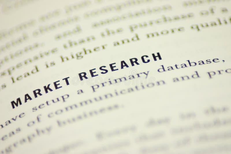 Estudio de mercados imagenes de archivo