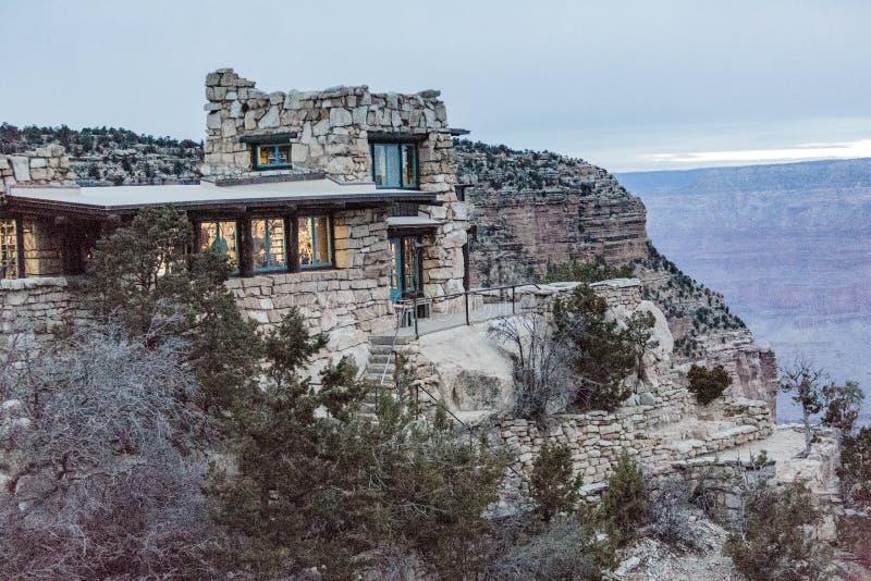 Estudio @ Grand Canyon del puesto de observación fotografía de archivo
