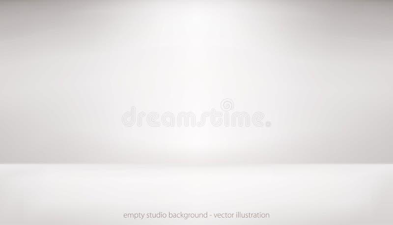 Estudio vacío ilustración del vector