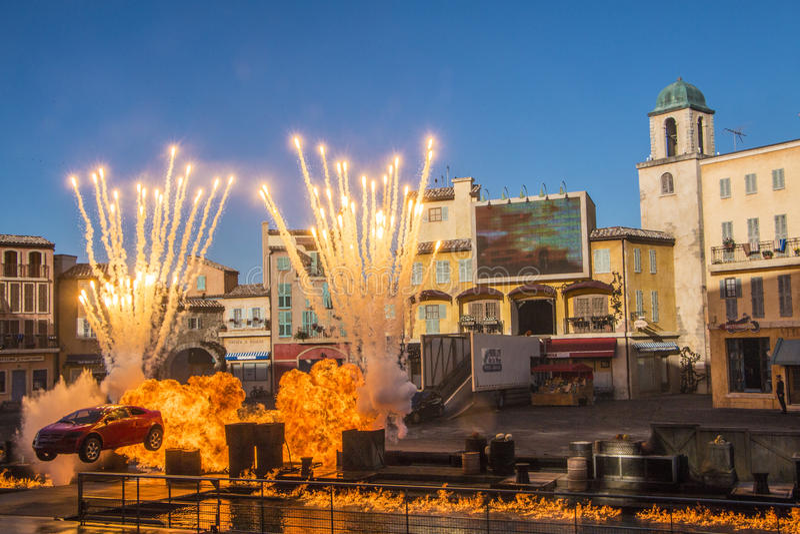 Estudios de Hollywood - Walt Disney World - Orlando/FL foto de archivo libre de regalías