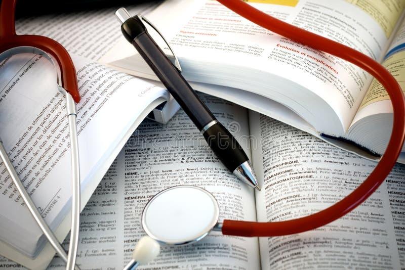 Estudios médicos foto de archivo