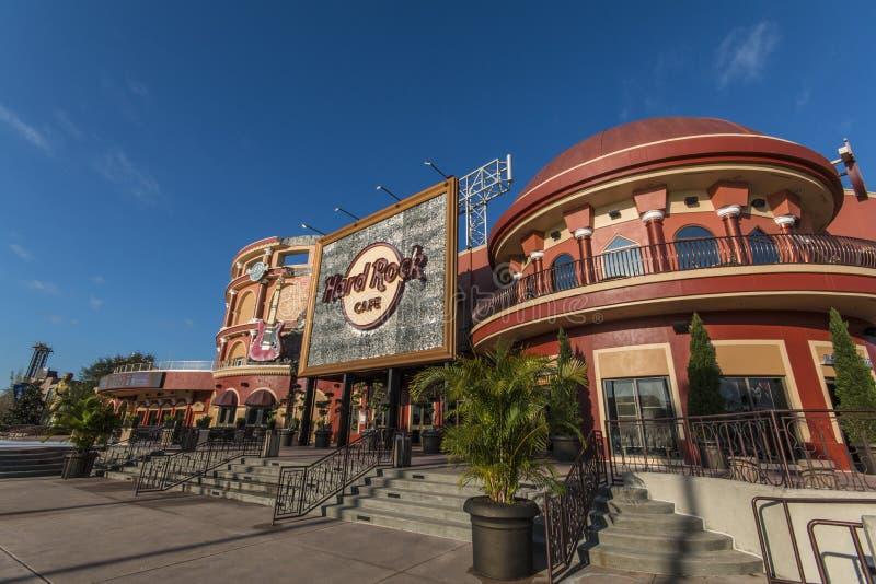 Estudios universales Orlando - Hard Rock Cafe imagenes de archivo