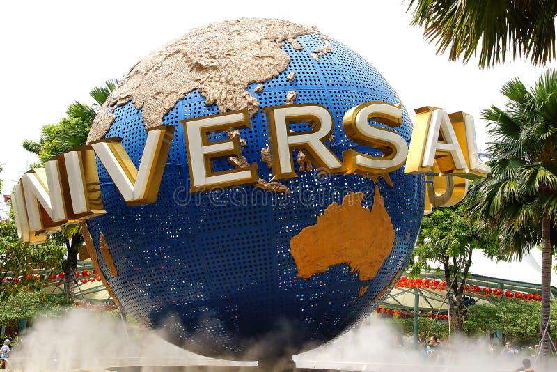 Estudios universales Singapur imagen de archivo libre de regalías