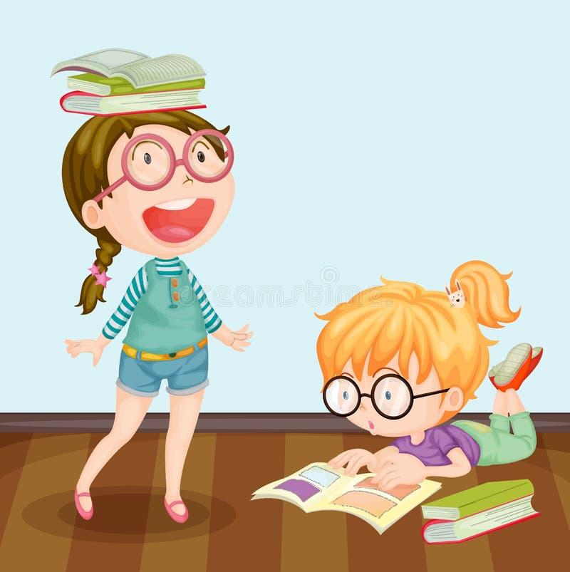 Estudo ilustração stock