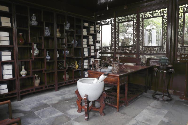 Estudo antigo chinês imagens de stock