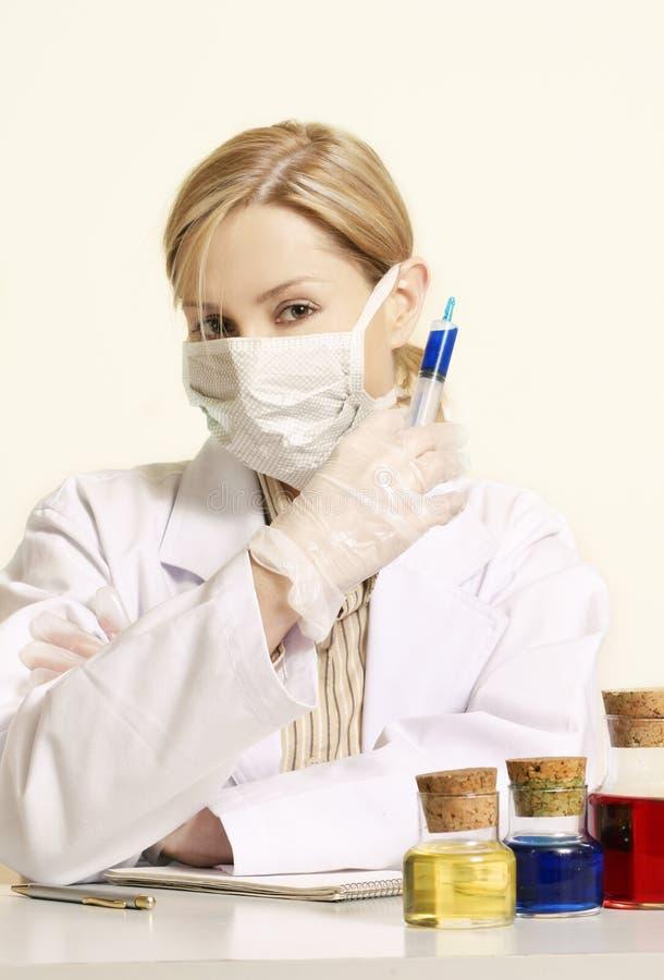 Estudo clínico imagem de stock